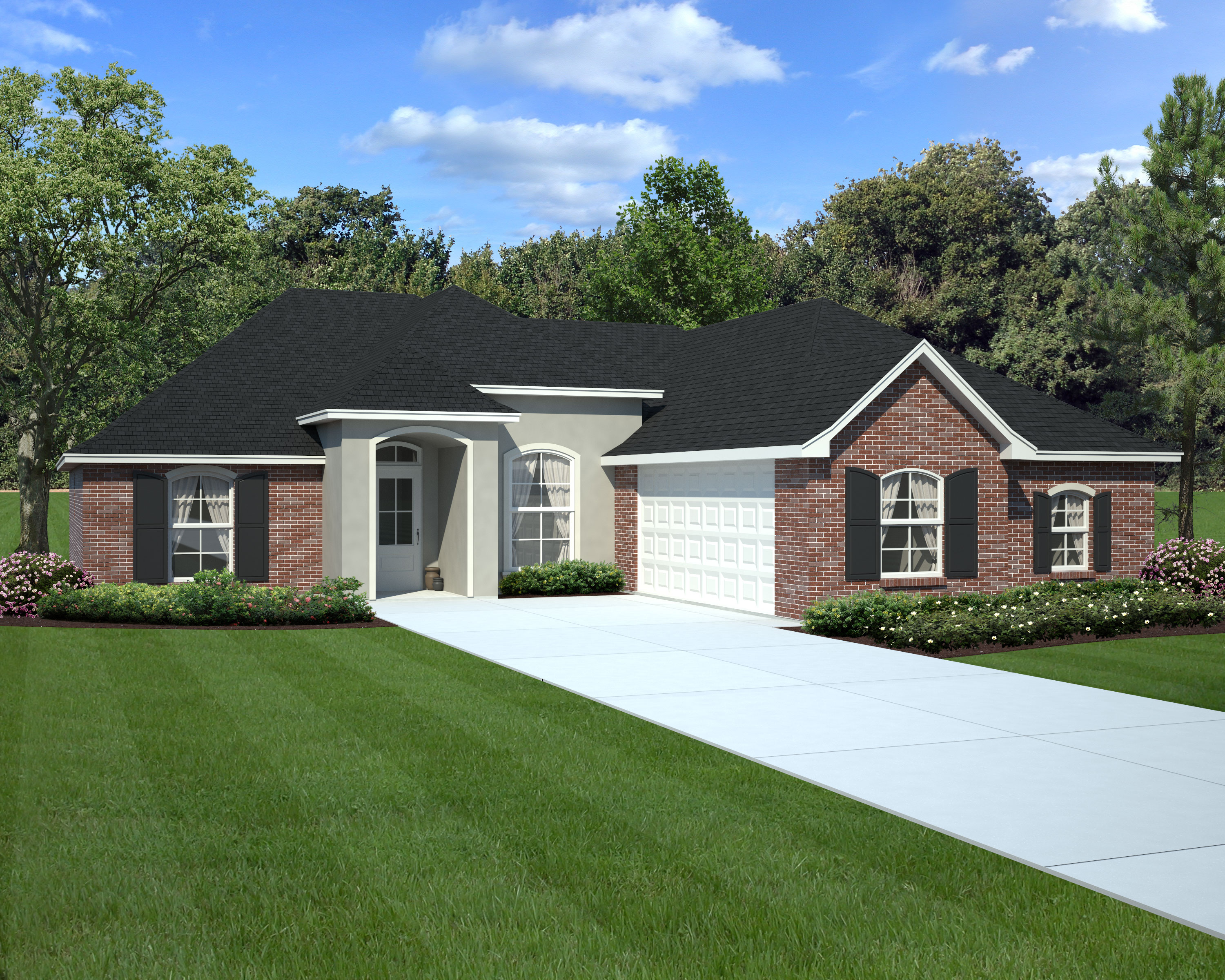 New Home Sample Floor Plans