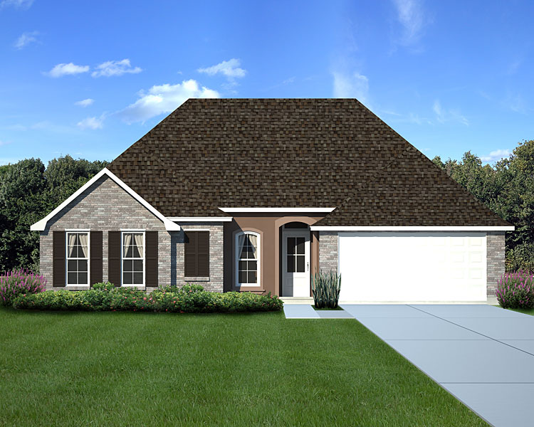 Claiborne Floor Plan Home